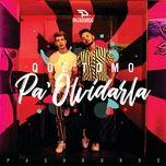 Tải bài hát Qué Tomo Pa' Olvidarla Mp3