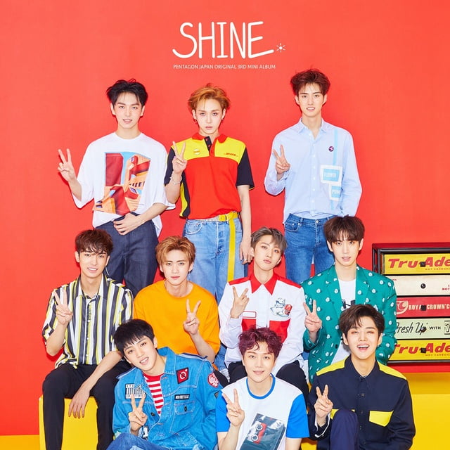 Shine (Japanese Version) Loi bai hat - Pentagon