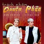 trach nham duyen phan - khanh don, ngo truong