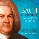 Wer nur den lieben Gott lässt walten, BWV 93: VII. Sing, bet und geh auf Gottes Wegen (Choral)