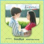 goodbye (the beauty inside ost) - wendy (red velvet)