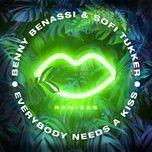everybody needs a kiss (havoc & lawn remix) - benny benassi, sofi tukker
