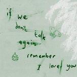 please never fall in love again - ollie mn