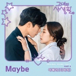 maybe (her private life ost) - hae ri (davichi)