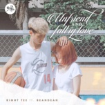 unfriend and fall in love - right tee, beandean