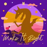 make it right - bts (bangtan boys), lauv