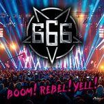 Boom!Rebel!Yell!