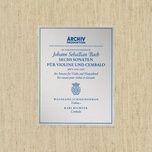J.s. Bach: Sonata For Violin And Harpsichord No.2 In A, Bwv 1015 - 2. Allegro