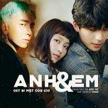 Tải bài hát Anh Và Em (Bí Mật Của Gió OST) Beat Mp3