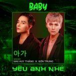 Tải bài hát Baby Yêu Anh Nhé Beat Mp3