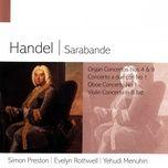 Organ Concerto No. 9 In B Flat, Op.7 'Hallelujah' (1998 Remastered Version): Iv. Menuet I & Ii