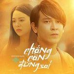 Tải bài hát Chẳng Cần Đúng Sai Mp3